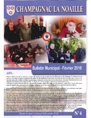 bulletin municipal n°4
