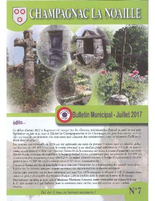 bulletin municipal n° 7