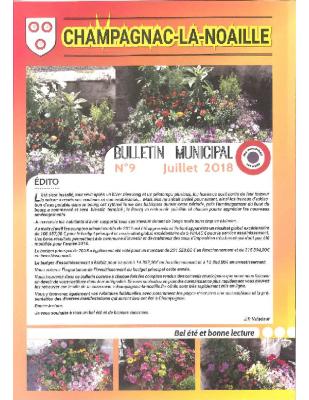 bulletin municipal n° 9
