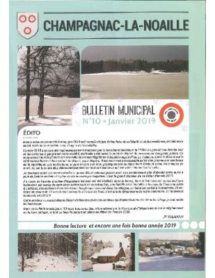 bulletin municipal n°10