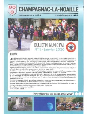 bulletin municipal n°12
